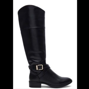 Sam Edelman Parker Riding Boots Black